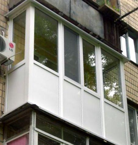Остекление балконов недорого..