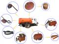 НОВОЕ ПОСТУПЛЕНИЕ ! Запасные части КОММАШ для вакуумных ассенизаторских машин.