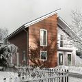 Преимущества постройки канадского дома под ключ в России