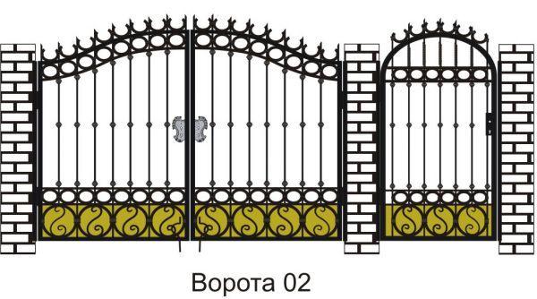 Кован ворота своими руками