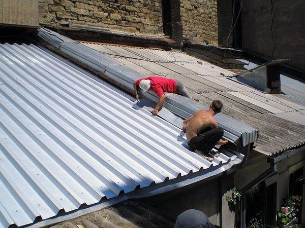 Чем можно отремонтировать шиферную крышу своими руками 91