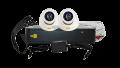 AHD комплект видеонаблюдения 720P 2 канальный внутр. VHD-Kit112H