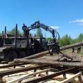 Лесозаготовка. Начало