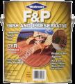 F&P Finish And Preservative Масло с добавлением воска для террас и деревянного сайдинга