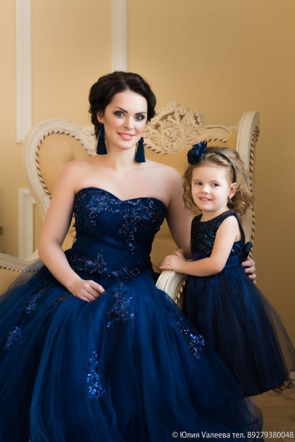 Какого Цвета Платье У Мамы