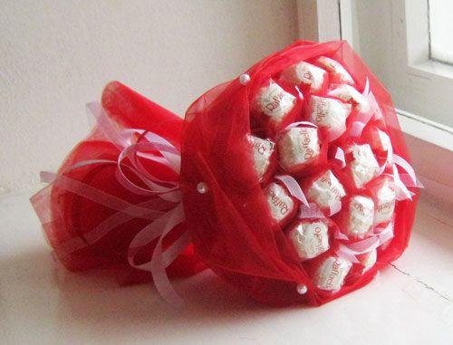 Букет из конфет рафаэлло