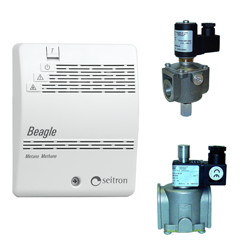 Бытовой сигнализатор газа SEITRON RGDME5MP1 Beagle на природный газ (СН4-метан)