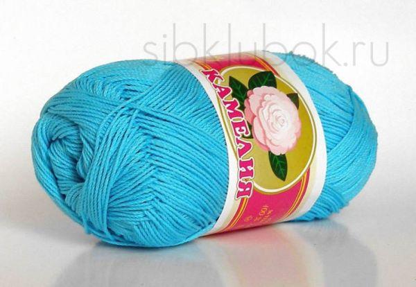 Нитки для вязания хлопок роза