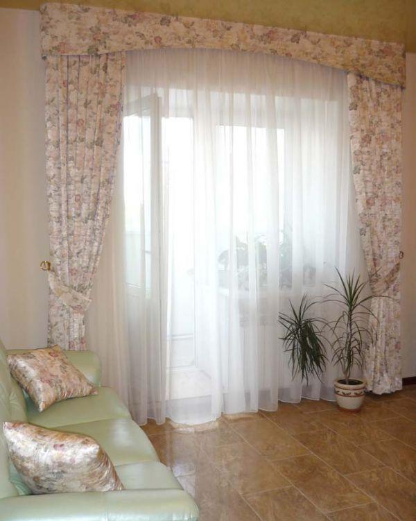 тюлевые занавески в однокомнатной квартире фото аренду гостевой