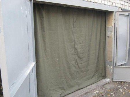 Купить брезентовые шторы для гаража в рязани купить гараж ростов