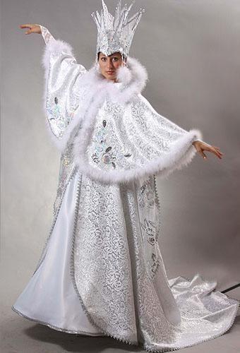 снежная королева костюм фото