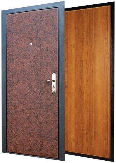 входная металлическая дверь эконом класс