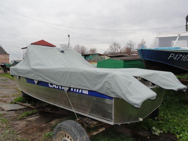 куплю тент на лодку салют 480