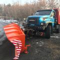Snow removal truck Ural NEXT