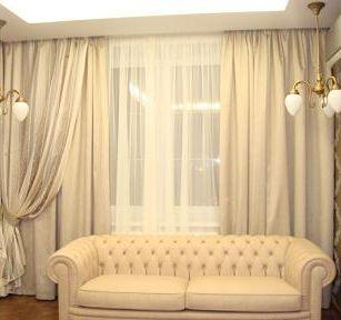 шторы фото классические