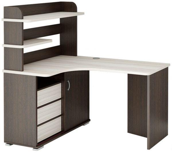 столы компьютерные и письменные фото угловые