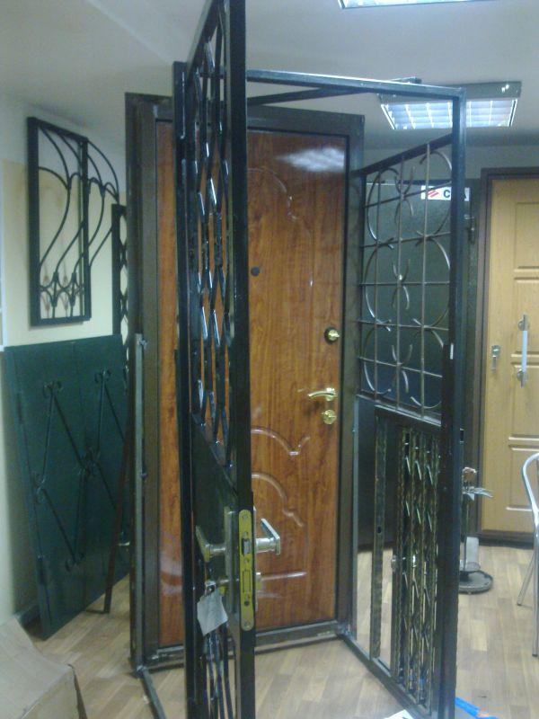 изготовление металлических дверей и решеток