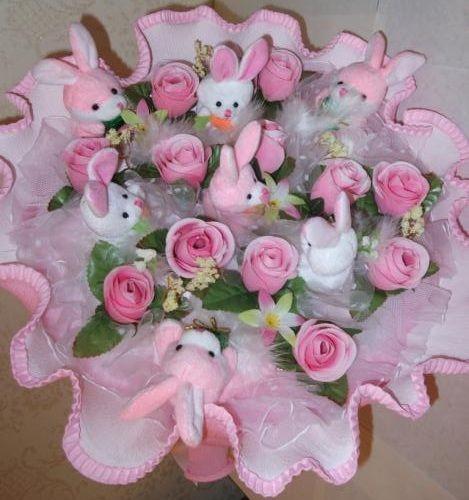 Цветы из мягких игрушек в пензе купить переходник скарт на тюльпаны купить в спб