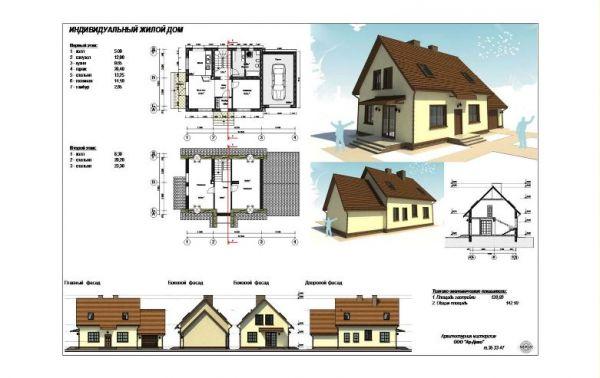 фото проекты жилых домов