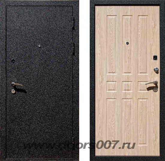 стальная дверь внутренняя отделка цвет черный