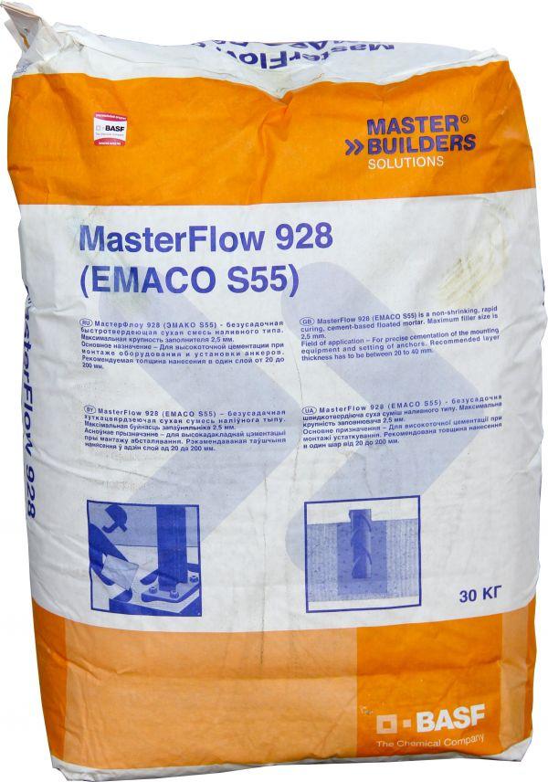 Смесь бетонная безусадочная emaco s88c бетон м300 лобня