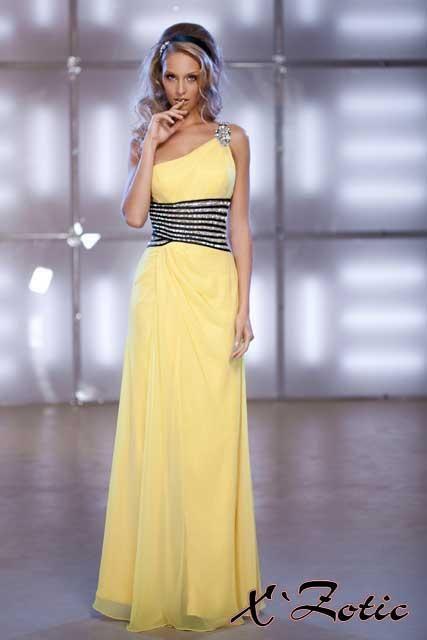 cf7a667afdb Великолепное яркое желтое платье в греческом стиле с открытой спиной ...