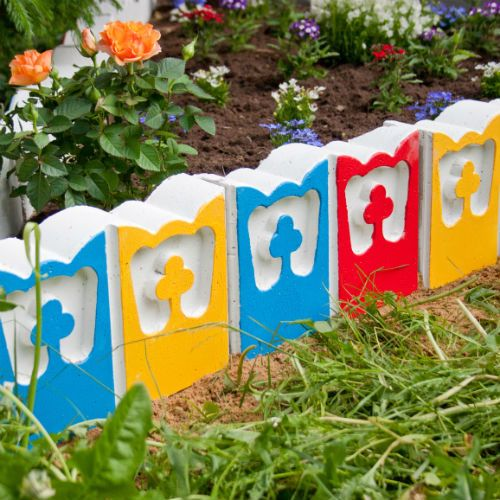 Форма для изготовления садовых дорожек своими руками фото 926