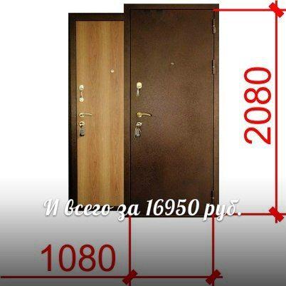 железные двери 15 см толщиной