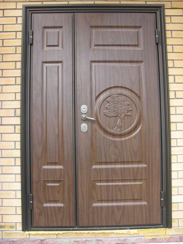 двери двухсторонние входные