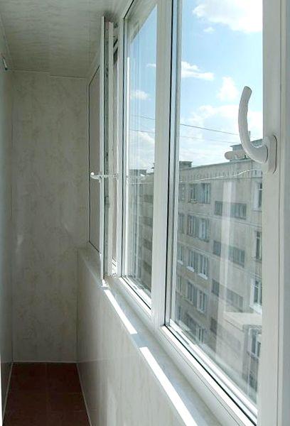 Остекление балкона пвх 4000*1500 - профиль exprof practica 3.