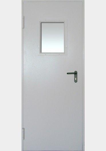 железная дверь противопожарная