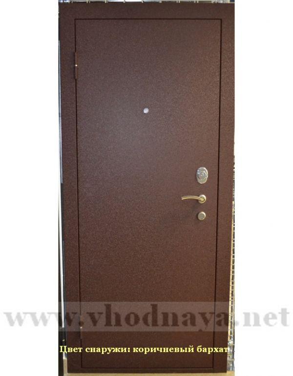 входная дверь престиж черный бархат