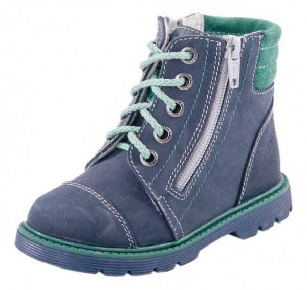 290bdf96c Модель: 452067-33 синий Ботинки дошкольные натуральная кожа