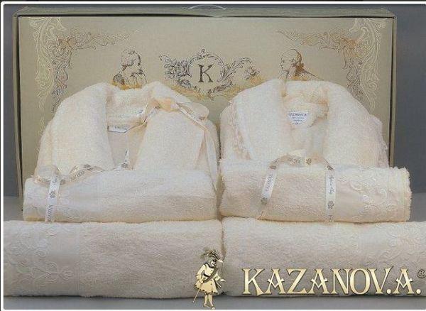 Набор халатов в подарок на свадьбу