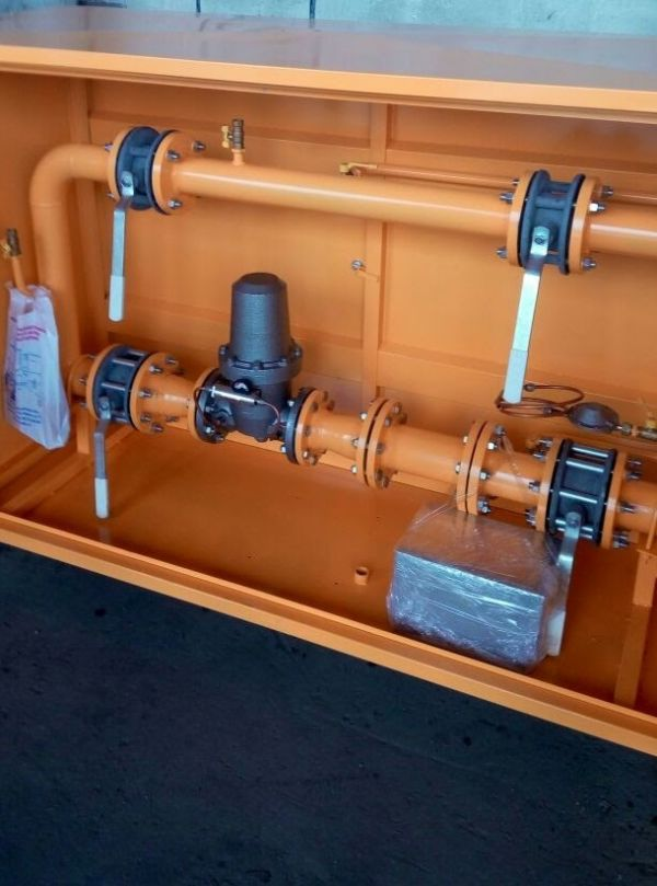 Пункт учета расхода газа ПУРГ-100, ПУРГ-200, ПУРГ-400, ПУРГ