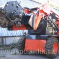 Cutter for asphalt removal on mini-loaders BOBCAT, CAT, JCB, CASE, LIUGONG, MUSTANG, NEW HOLLAND,...