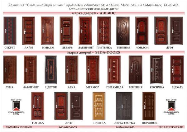 металлические двери до 25 тысяч рублей