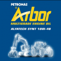Масло моторное Arbor Alfatech Synt 10W-40 200L.