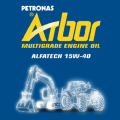 Масло моторное Arbor Alfatech 15W-40 200L.
