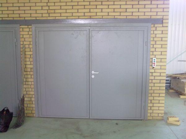 стальные двери ворота